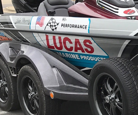 Lucas Marine Products Boat Wrap