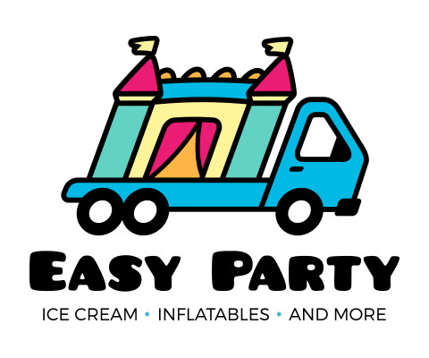 Easy Party - Party Planning Company Logo Design