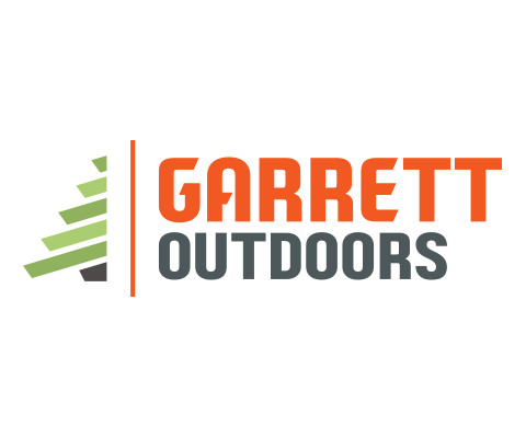 Garrett Outdoors Land Clearing Company Logo Design