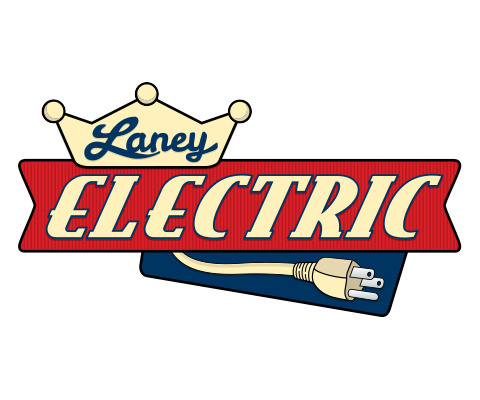 Laney Electric - Electrician Logo Design