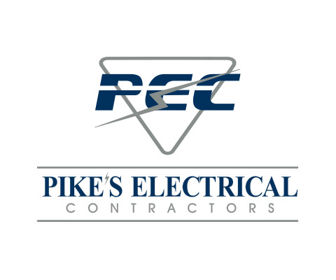 Pike's Electrical Contractors - Electrical Contractor Logo Design