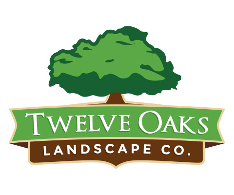 Twelve Oaks Landscape Co. - Lawn Care Company Logo Design