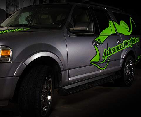 Advanced Angler - Fishing Company Vehicle Wrap