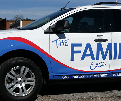 Family Savings Credit Union - Credit Union SUV Wrap