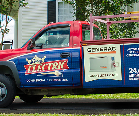 Laney Electric - Electrician Vehicle Wrap