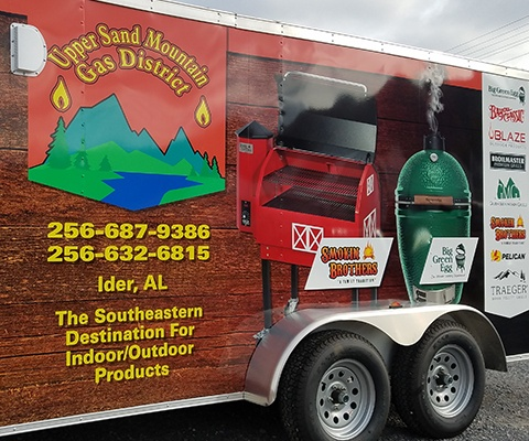 Upper Sand Mountain Gas District - Trailer Wrap
