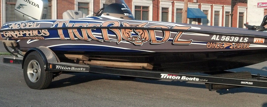 Tigerodz Boat Wrap