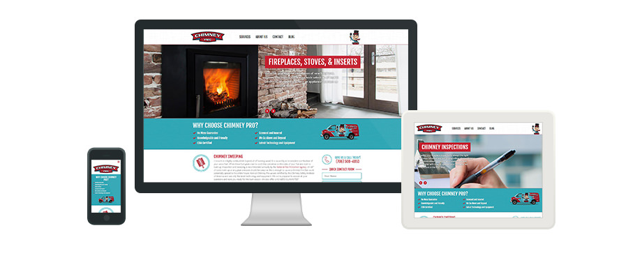 Chimney Pro - Web Design