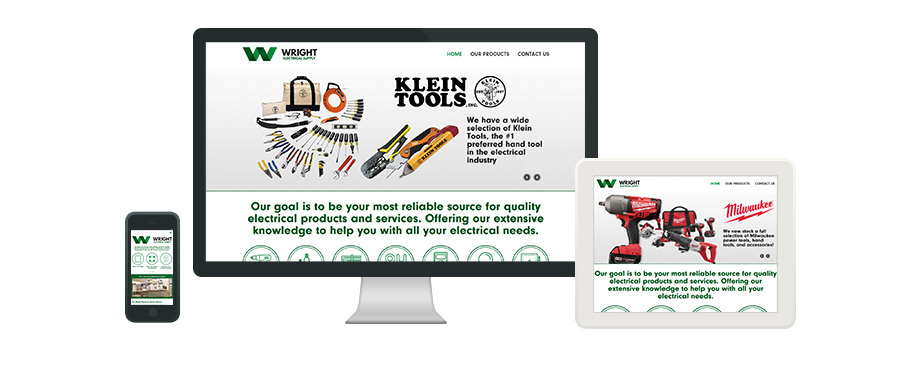 Wright Electrial Supply - Web Design