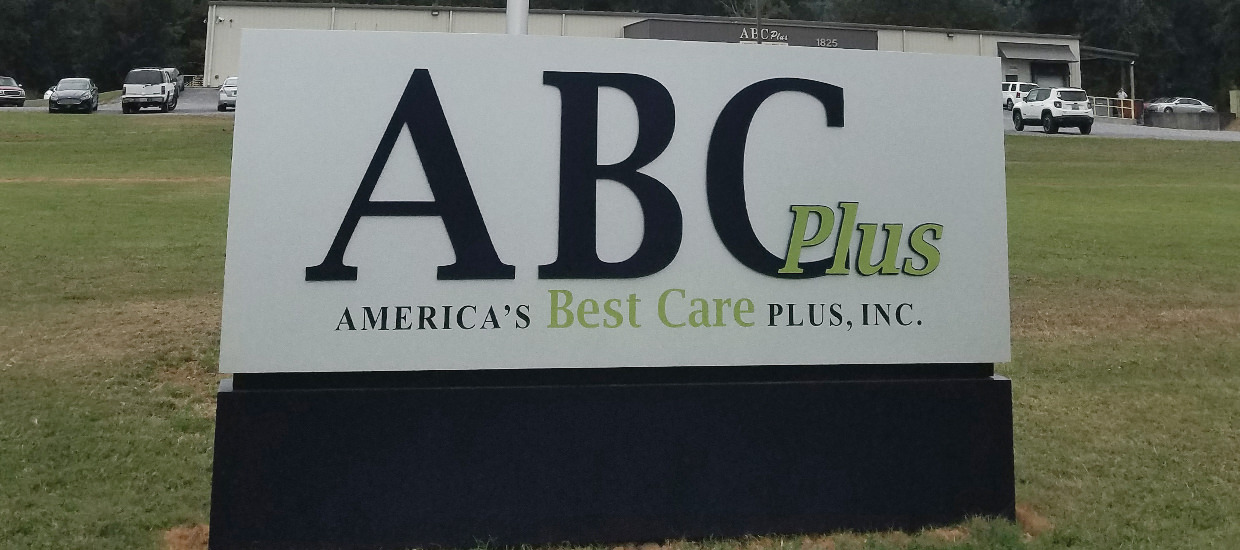 ABC Plus - Dimensional sign design, production, and installation.