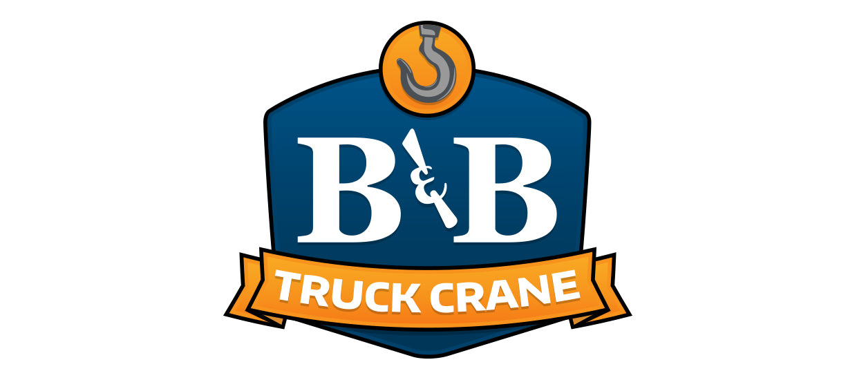 Logo Design for B&B Truck Crane - An Auto Crane Truck crane dealer located in Mentone, AL.