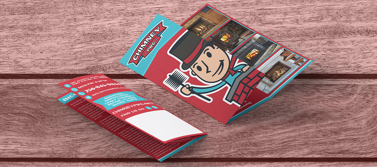 Brochure design for Chimney Pro.