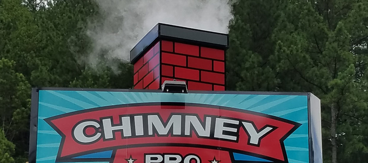 Sign Design and Installation for Chimney Pro.