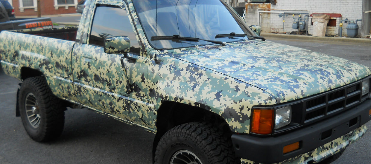Digital Camouflage Camo Vehicle Wrap Accel Graphics