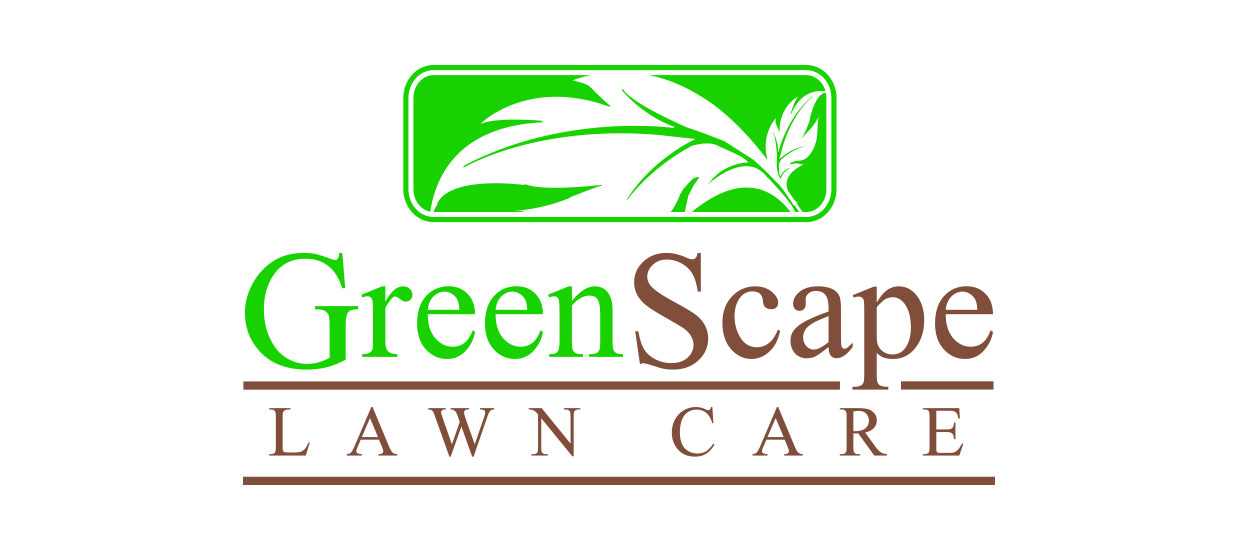logo for a lawn care company located in fort payne alabama