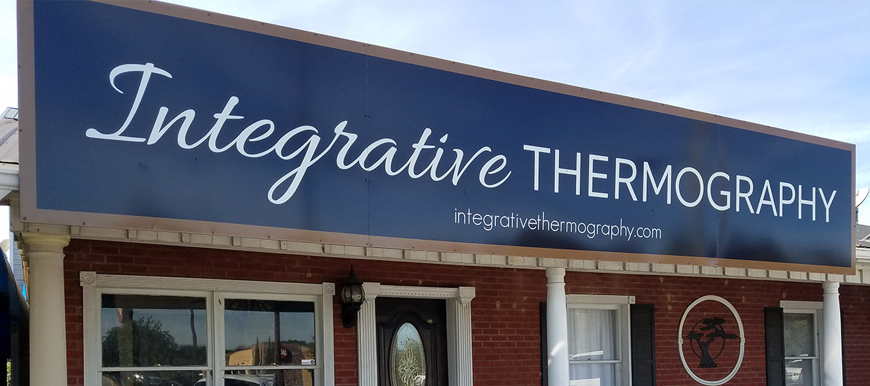 Integrative Thermography - Polymetal sign design and installation.