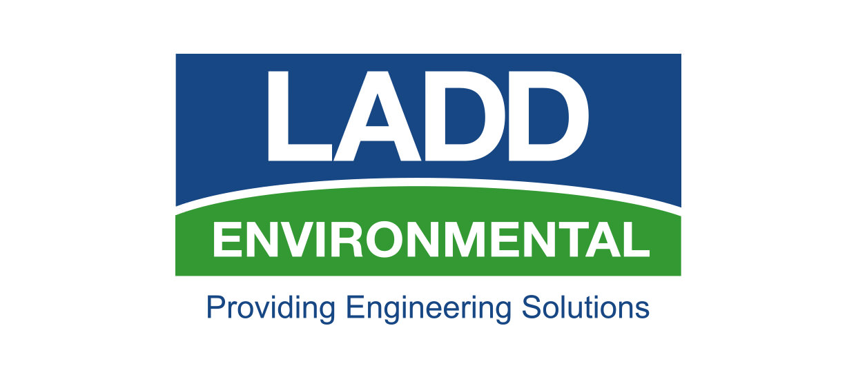 Logo design for Ladd Environmental, a civil engineering firm located in Northeast Alabama.