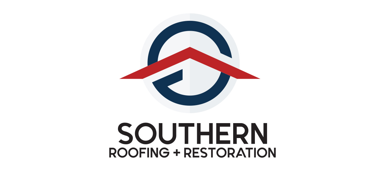 Logo and Branding Design for Southern Roofing and Restoration.