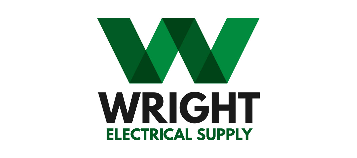 Branding design starts with a logo, Here is one for Wright Electrical in Fort Payne, AL.