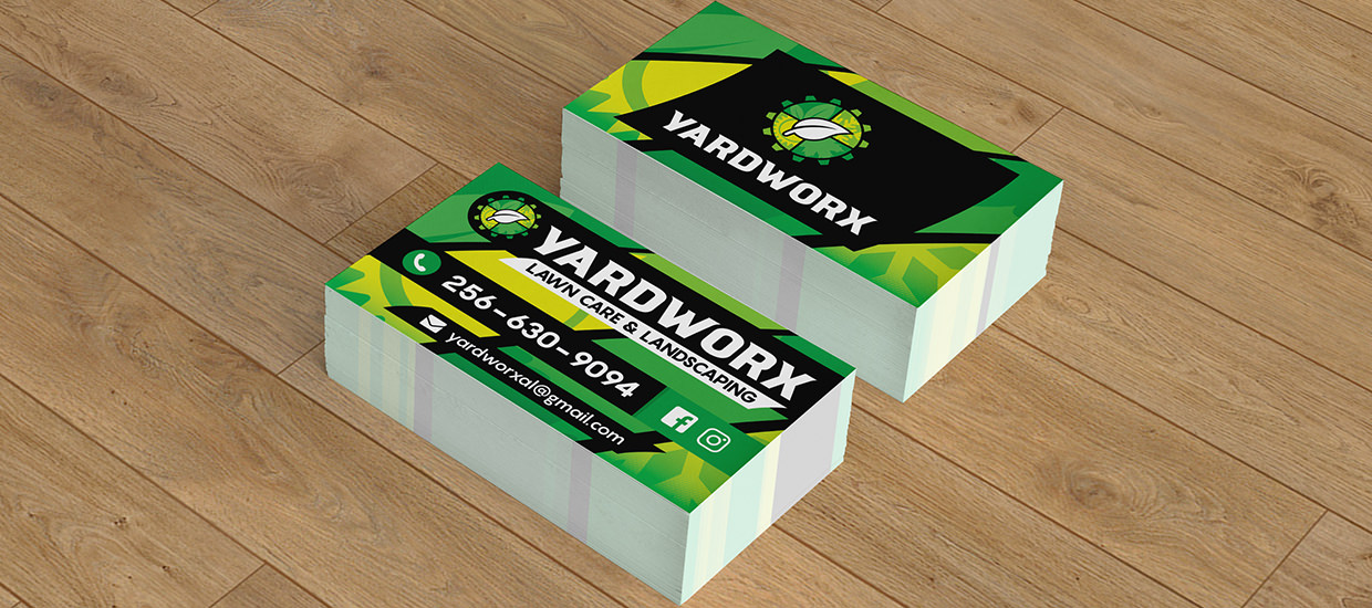 Business Card Design for Yardworx.