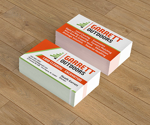 Garrett Outdoors Business Cards