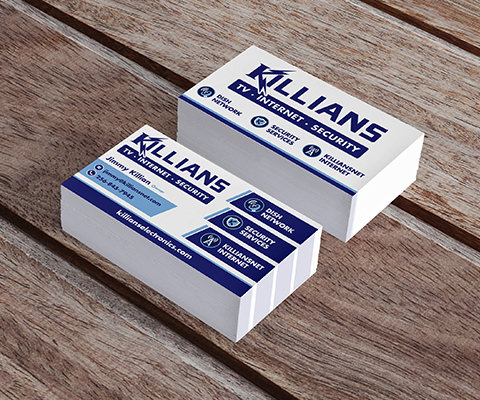 Killian's Electronics Business Cards