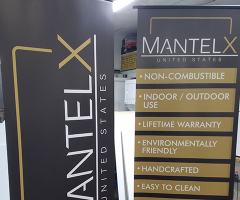 MantelX Trade Show Banners
