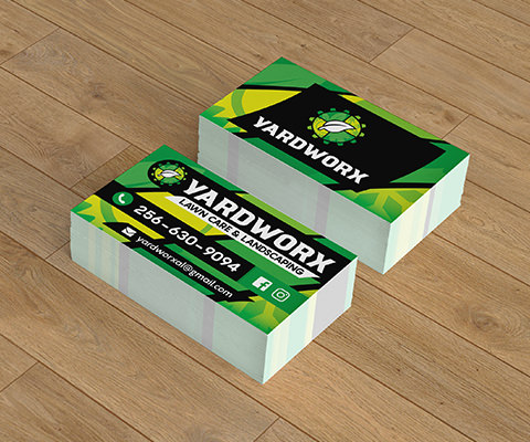 Yardworx Business Cards