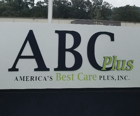 ABC Plus - Dimensional Sign