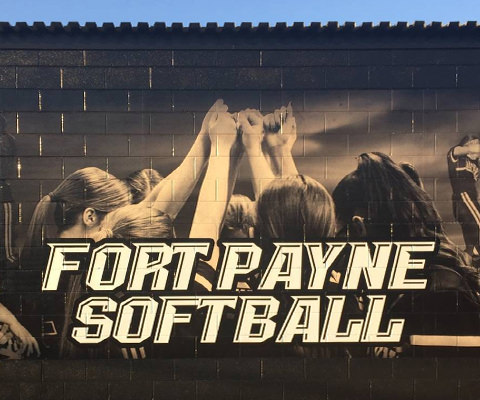 Fort Payne High School Wall Wrap