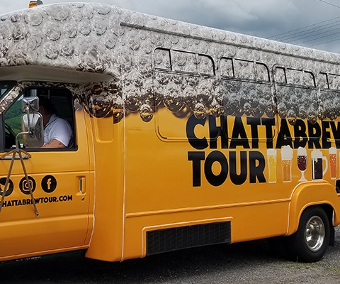 Chattabrew Tour - Van Wrap