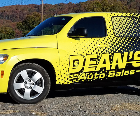 Dean's Auto Sales - Full HHR Wrap
