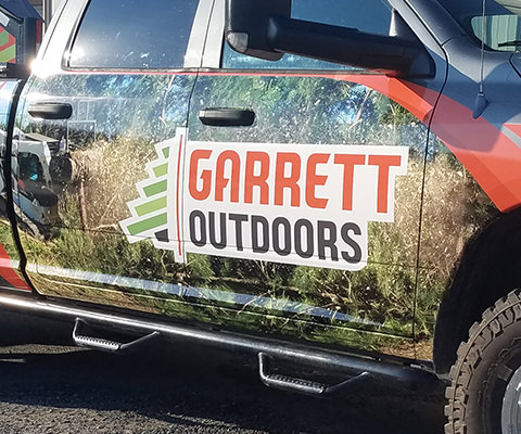 Garrett Outdoors - Truck Wrap