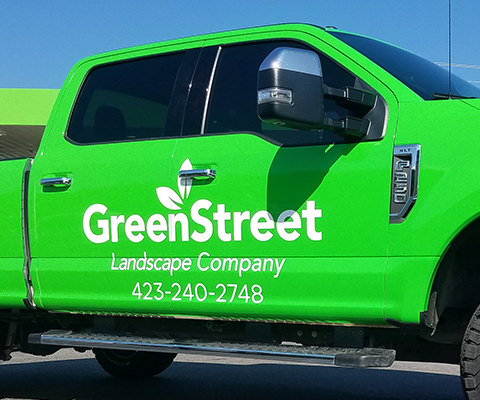GreenStreet Color Change Truck Wrap