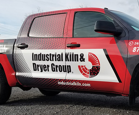 Industrial Kiln & Dryer Group - Full Truck Wrap