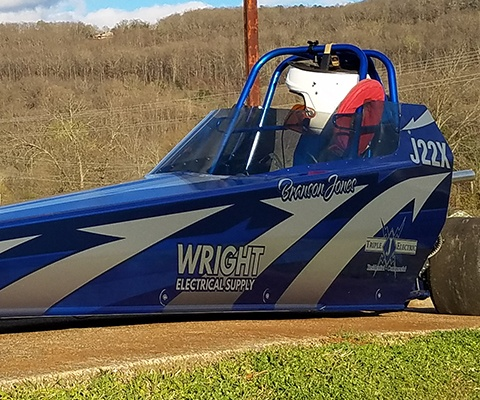 Jr. Dragster Wrap