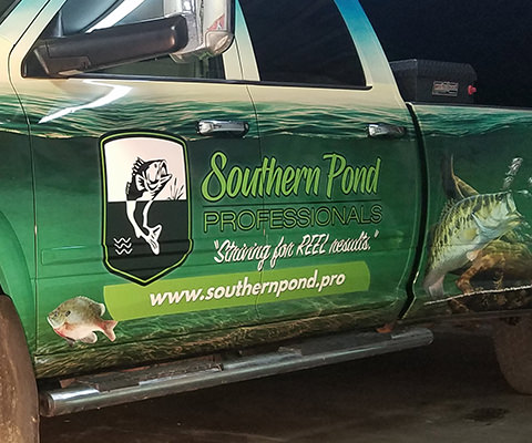 Southern Pond Professionals - Full Truck Wrap