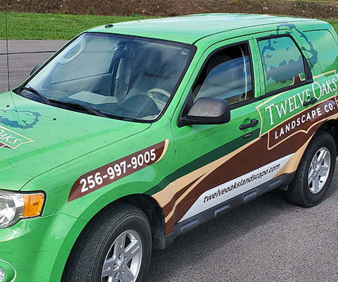 Twelve Oaks Landscape Co. - Landscape Company Vehicle Wrap