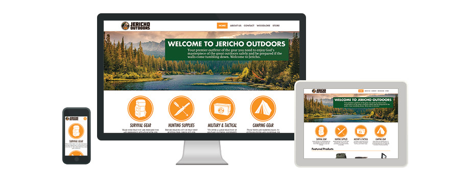 Jericho Outdoors - Web Design