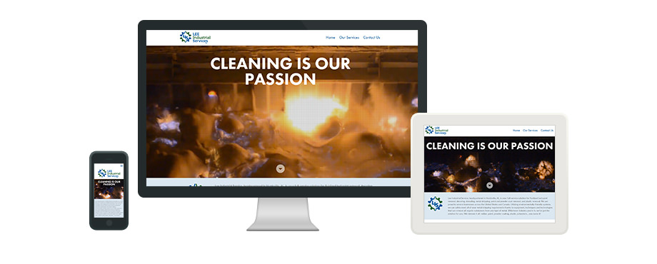 Lee Industrial Services - Web Design